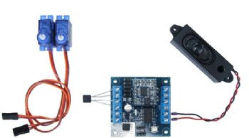 Block Signalling Level Crossing Controller for Gates/Barriers & Sound